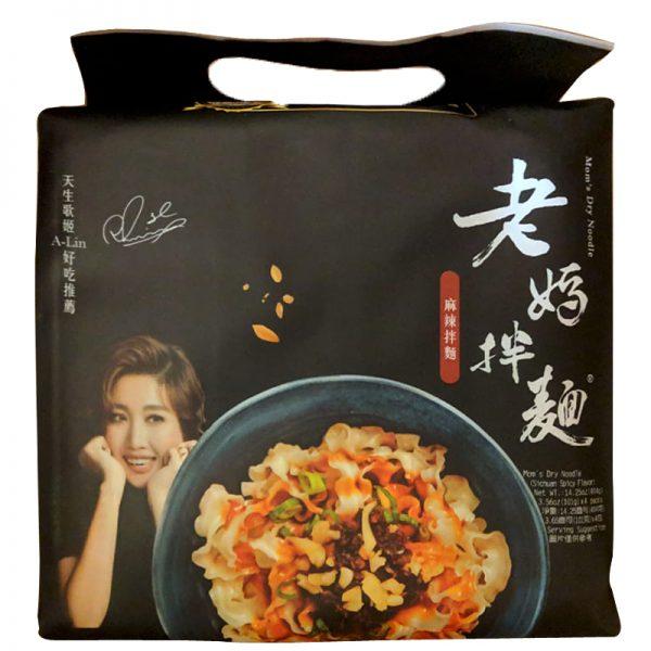Mom's Dry Noodles (Mala Sichuan) 4 Packs