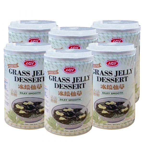 AiZhiWei Grass Jelly Dessert (6 Can)