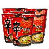 Nongshim Shin Cup Noodle (6 Cup)