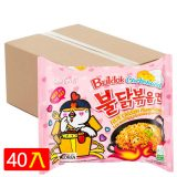 Samyang Hot Chicken Ramen BOX CARBONARA (Pack of 40) [BOX]