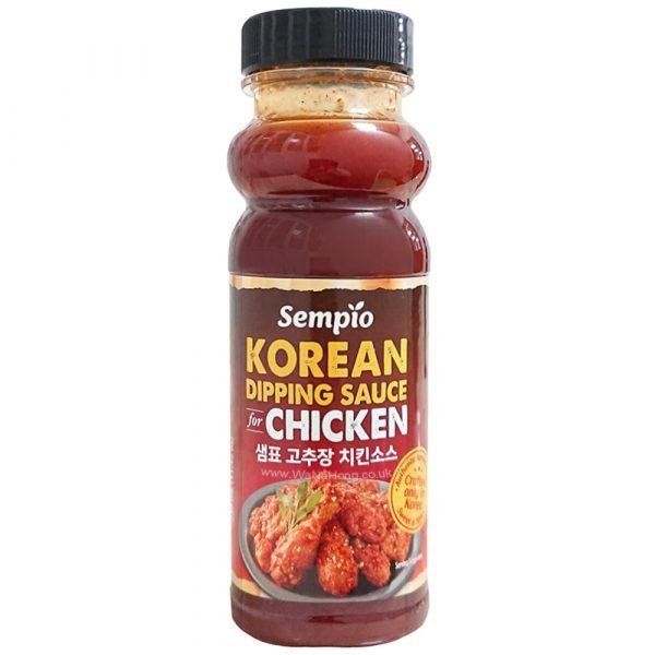 Sempio Korean Fried Chicken Dipping Sauce (Sweet & Spicy)