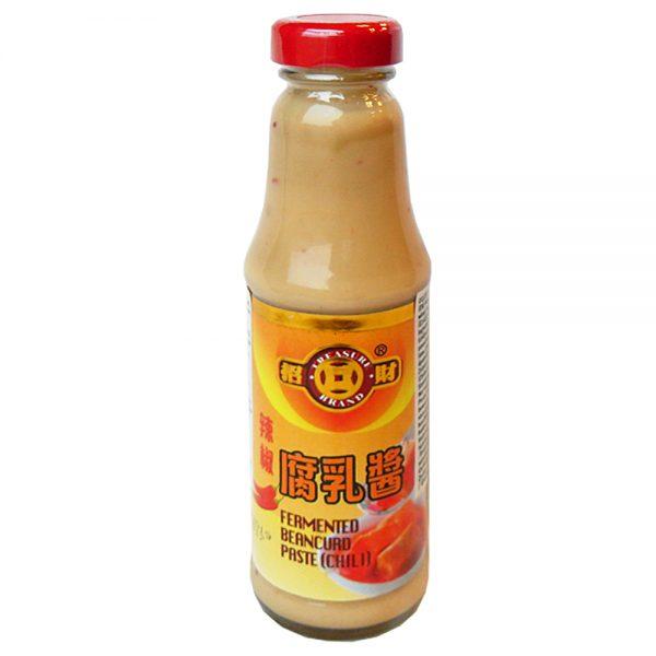 Treasure Fermented Beancurd Chilli Sauce 170G