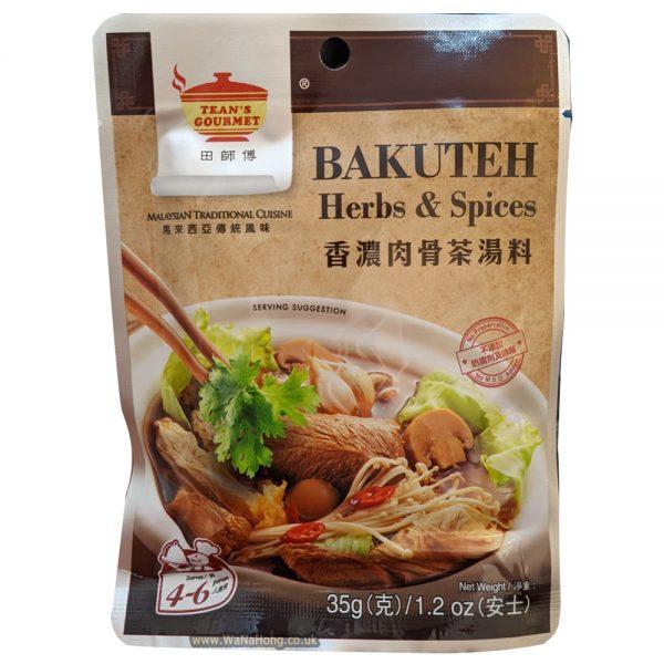Tean's Bakuteh Herbs & Spices 35G