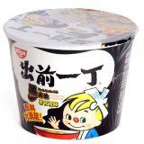 Nissin Damae Ramen Big Bowl (Black Garlic Oil Tonkotsu Flavor) 110G