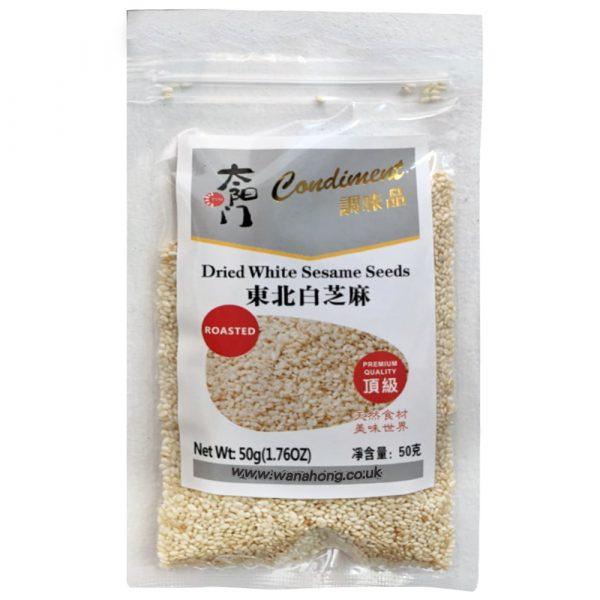 TaiYangMeng roasted WHITE Sesame Seeds 50G
