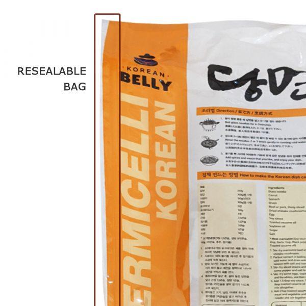 Korean Belly Potato Vermicelli Glass Noodle 500g