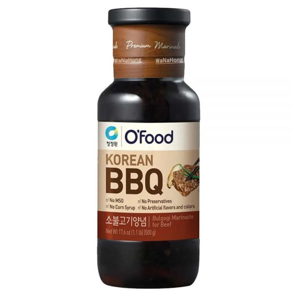 CJO Barbecue Sauce (Beef Bulgogi) LARGE 500g