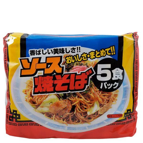 Sunaoshi Sapporo Instant Yakisoba (5 Pack) 410g