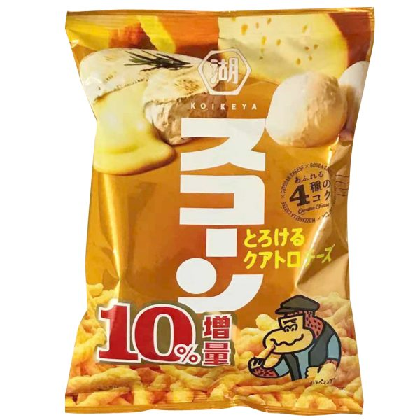 KOIKEYA Corn Snacks (Cheese Flavor) 75g