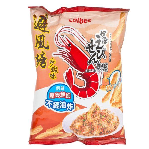 Calbee Shrimp Cracker Typhoon Shelter Style 90G