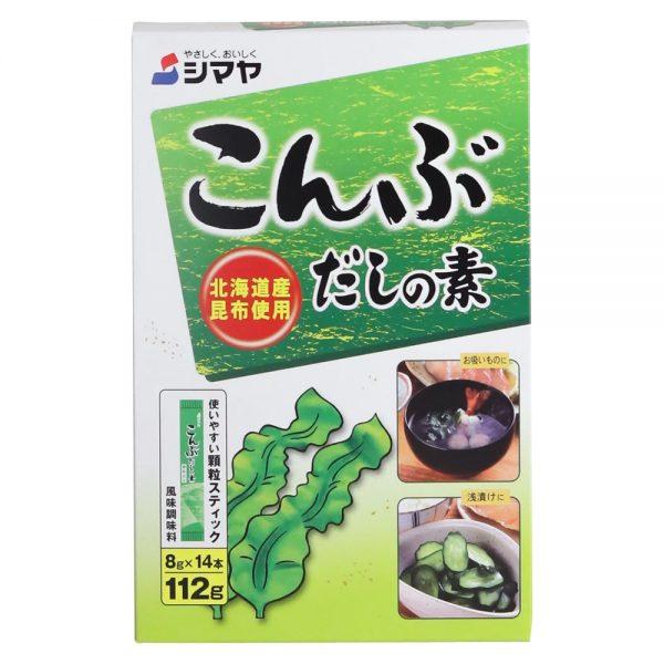Shimaya Kombu Dashi (Kelp Based Soup Stock) 14 Sachets 112G
