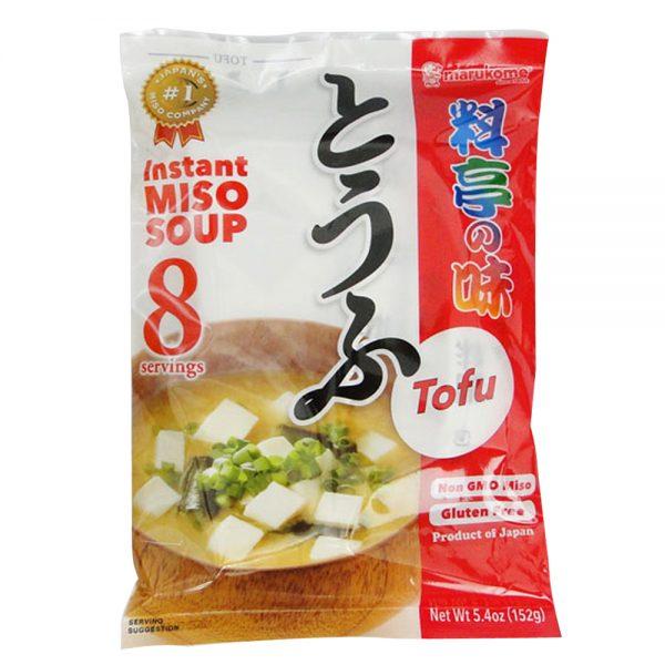 Marukome Instant Miso Soup TOFU (8 servings)
