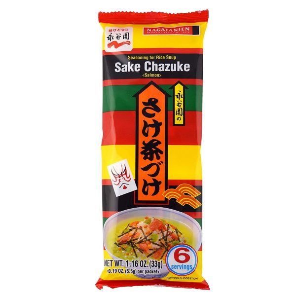 Nagatanien Ochazuke Sake Chazuke 6 Servings 33g