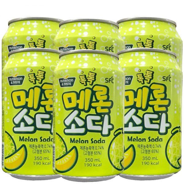 SFC Green Melon Soda (6 Can)