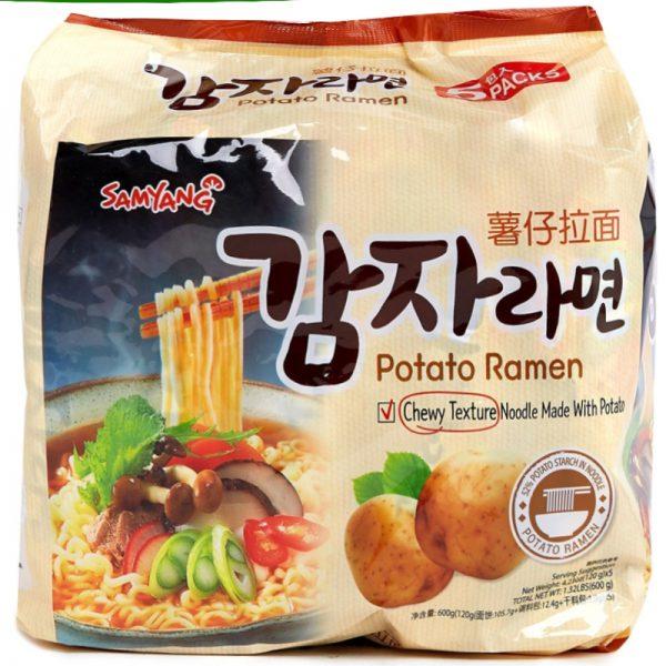Samyang Chewy Potato Ramen (5 Packs)