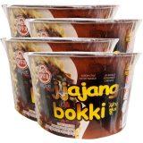 Ottogi Jjajang Noodle Bowl 120G (Pack of 4)