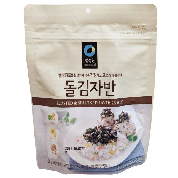 CJO Seasoned Seaweed Flakes (Anchovy & Shrimp) 30G