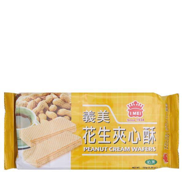 Imei Cream Wafers (Peanut) 152G