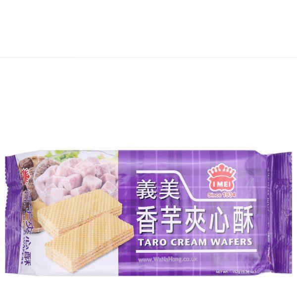 Imei Cream Wafers (Taro) 152G