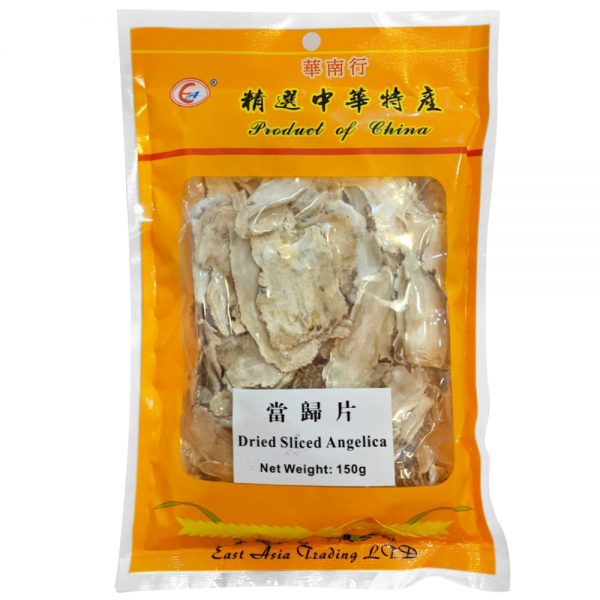 Dried Sliced Angelica (Yellow Pack) 150G
