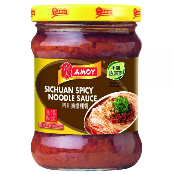 Amoy Sichuan Spicy Noodle Sauce 220G