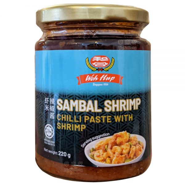 Woh Hup Sambal Chilli Paste with Shrimp 220G