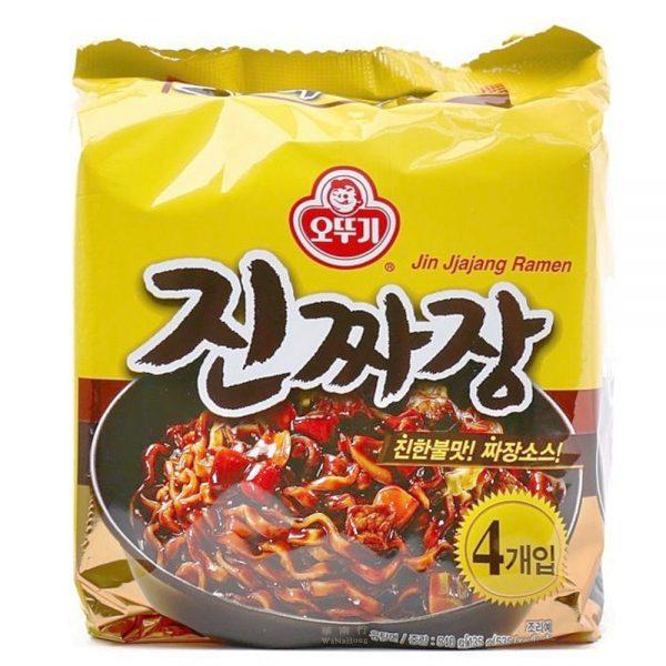 Ottogi Jin Jjajang Noodles (Pack of 4)