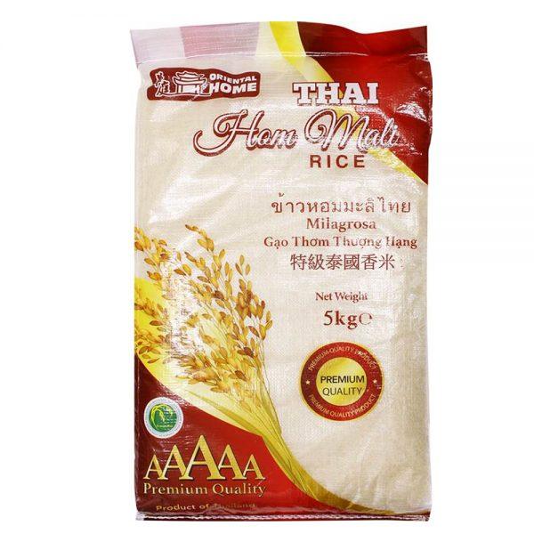 Oriental Home Thai Jasmine Rice 5KG