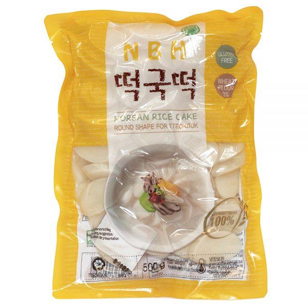 NBH Korean Rice Cake Slice 500g