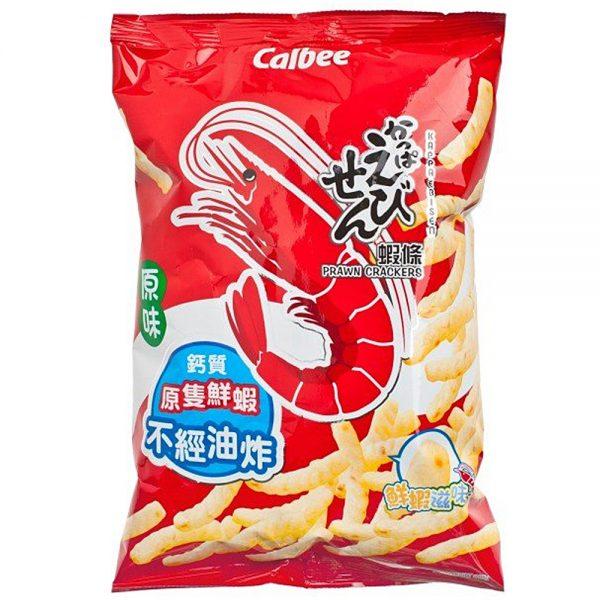 Calbee Shrimp Cracker Original Flavor (Large Pack) 105G