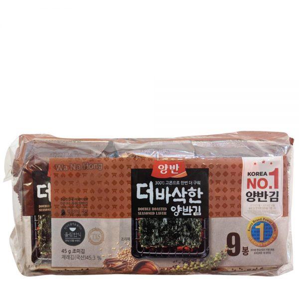 Dongwon Seasoned Seaweed (9 Packet)