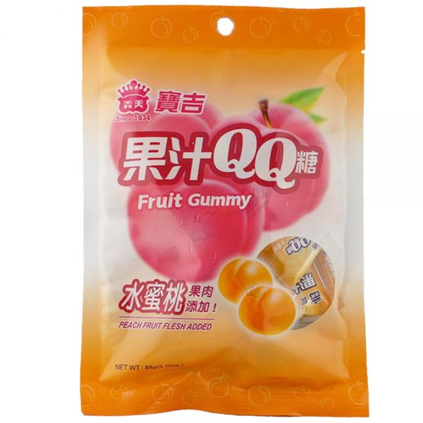 Imei Fruit Gummy (Peach Flavour) 88G