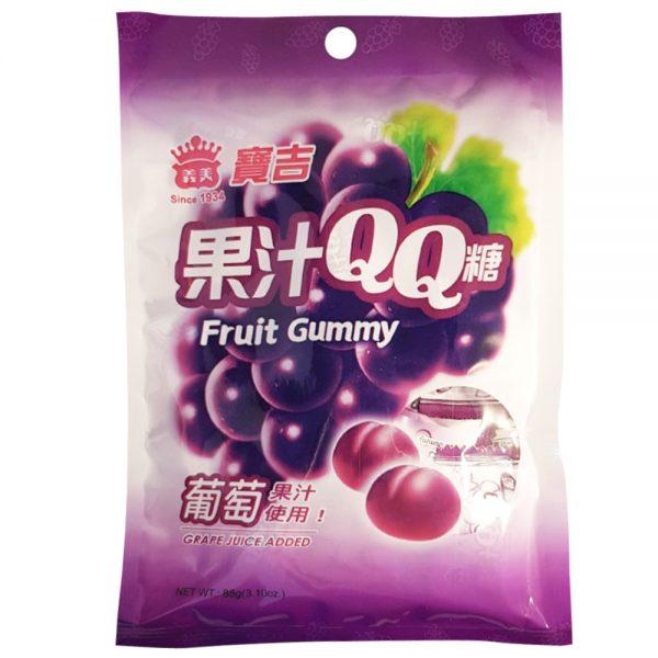 Imei Fruit Gummy (Grape Flavour) 88G