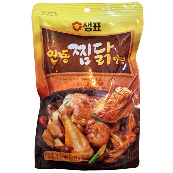 Sempio Andong Simmer Braised Chicken Sauce 210G