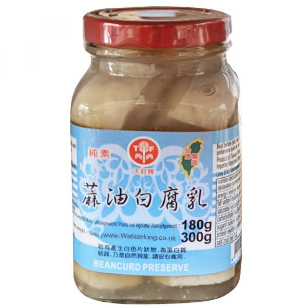 Tian Fu Chili WHITE Bean Curd 300g