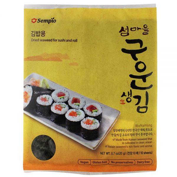 Sempio Roasted Sushi Seaweed Nori 10pc