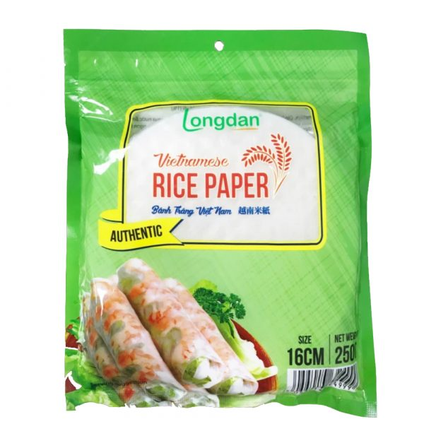 Longdan Rice Paper (16cm) 250g