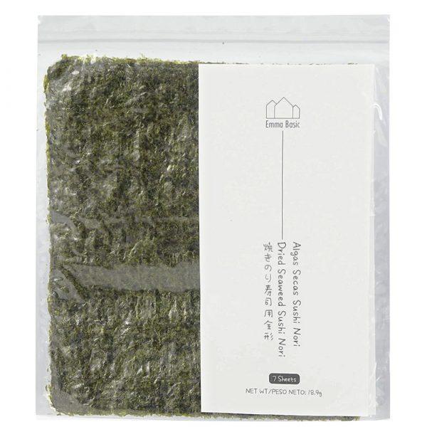 Emma Basic Dried Seaweed Sushi Nori (7 Sheets)