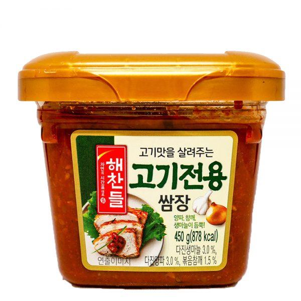 CJ Haechandle Seasoned Soybean Paste for Barbecue 450g