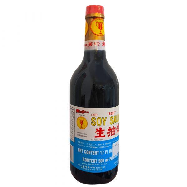 MEE CHUN BEST Light Soy Sauce 500ml