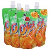 XiZhiLang Cici Bubble Jelly Drink – Mango (4 Packs)