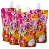 XiZhiLang Cici Bubble Jelly Drink – Lychee (4 Packs)