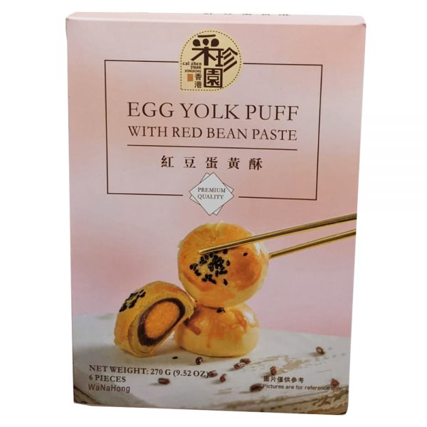 Oct-5 CCY Egg Yolk Puff with Red Bean Paste 270G
