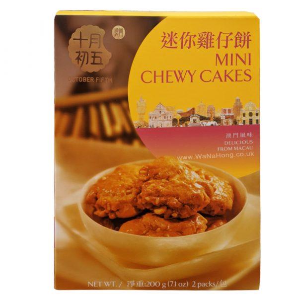 Oct-5 Mini Chewy Cake 200G