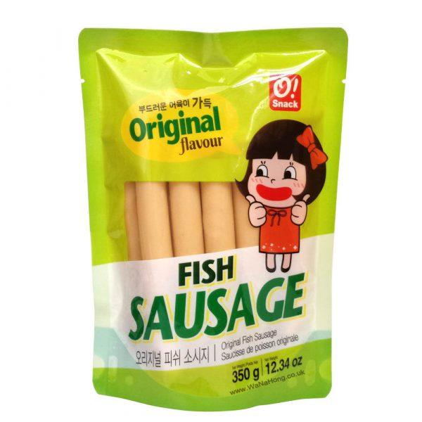 O!Snack Fish Sausage (10pc) 350G