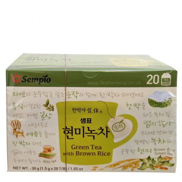 Sempio Brown Rice Green Tea (20 Sachets)