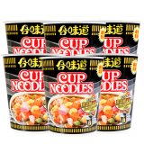 Nissin Cup Noodle – Black Pepper Crab (Pack of 6 Cup)