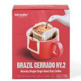 McNulty Hand Drip Coffee – Brazil Cerrado (7 Drip Bags)