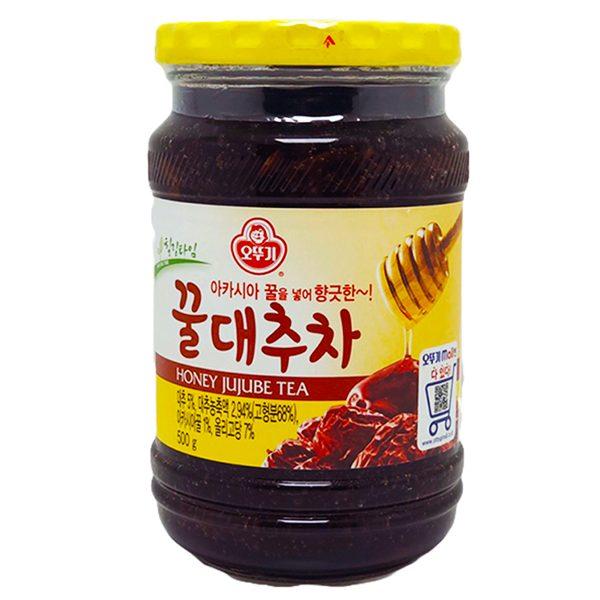 Ottogi Honey Jujube Red Date Tea 500G