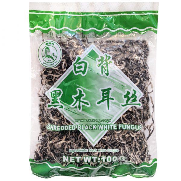 Jaz Dried Black Fungus Slice 100G
